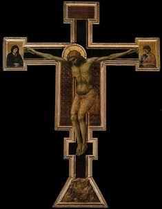 Giotto, Croce di Santa Maria Novella, 1290-1295, Tempera e oro su tavola, Basilica di Santa Maria Novella, Firenze.