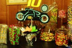 Candy Bar - Tron Legacy Birthday.