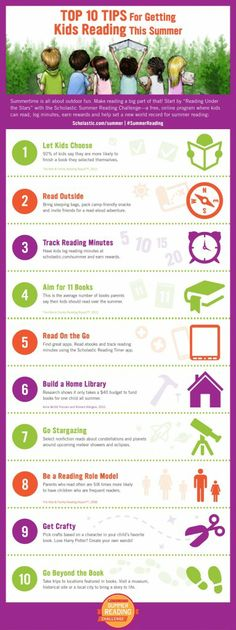 Stop the Summer Slide with the Scholastic Summer Reading Challenge! 10 Tips to Get Kids Reading! #SummerReading