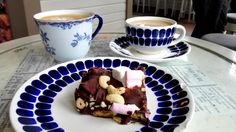 Rocky road, a latte and a cup of coffee at Mutteri > Helsinki