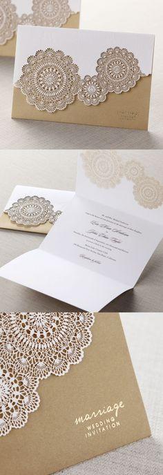hübsches Erinnerungsgeschenk zur Hochzeit-Einladungskarte