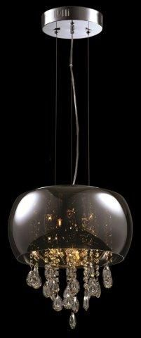 Produtos Infinity Modern Lamp - Grupo Metais Bianca Medidas: Ø40*35CM Material: VIDRO METALIZADO E CRISTAIS Descrição PENDENTE COM VIDRO METALIZADO CROMADO COM CRISTAIS NA PARTE INTERNA. NOS TAMANHOS Ø40 E Ø50 E NAS CORES DE VIDRO CROMADO OU ÂMBAR. Infinity, Chandelier, Ceiling Lights, Navy, Lighting, Home Decor, Diy Light, Modern Light Bulbs, Pendant Chandelier