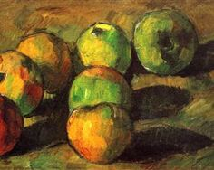 Still life with seven apples - Paul Cezanne - Color Mixing, Still Life