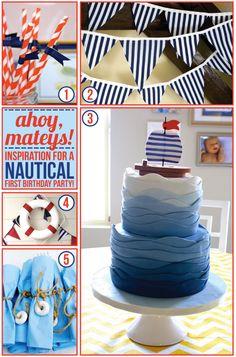 Idea para la primera fiesta de cumpleaños del bebé.