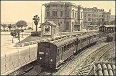Neo Faliro Train Station, Athens, Greece. Time Pictures, Old Pictures, Old Photos, Vintage Photos, Old Greek, Athens Greece, Old City, Train Station, Historical Photos