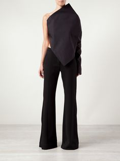 ODD. / Black Tailored Trousers - Womens