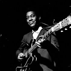 Grant Green. Played with a beautiful sense of restraint. I am pretty sure this is a Francis Wolff photo done at the recording session. HH