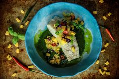 Paleo+Grilled+Halibut+with+Mango+Sauce+and+Thai+Pesto