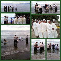 Baptisms this morning