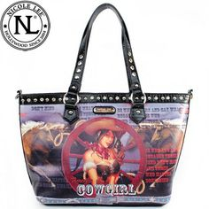 Cowgirl Handbag by NIcole Lee available at CowgirlsFashion.com
