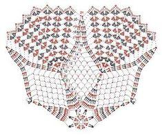 круглые салфетки крючком - фото (3)