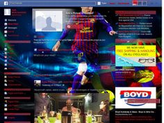 barsa messi v1 - Themes and Skins for Facebook - userstyles.org