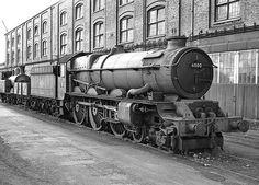 BR (GWR)  King class  4-6-0  No 6000 'King George V' Steam Railway, British Rail, Great Western, The Next Step, Steam Engine, Steam Locomotive, King George, Train Rides, Trains
