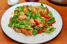 Салат с мидиями | Кулинарные Рецепты