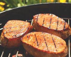 Asian Grilled Pork Chops