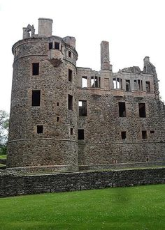 Huntly Castle is a ruined castle in Huntly, Aberdeenshire, Scotland. It was the ancestral home of the chief of Clan Gordon, Earl of Huntly