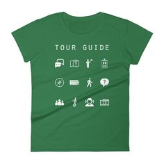 Tour Guide Fitted Women's T-Shirt - Beacon