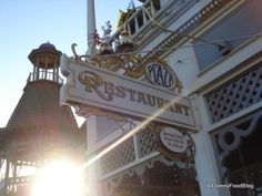 The Plaza Restaurant at the Magic Kingdom- one of the hidden gems of the park