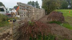 Hegn lavet af paller