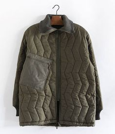 German quilted liner jacket [Dead Stock / resize]