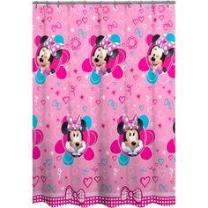 Minnie Mouse Decorative Bath Collection - Shower Curtain