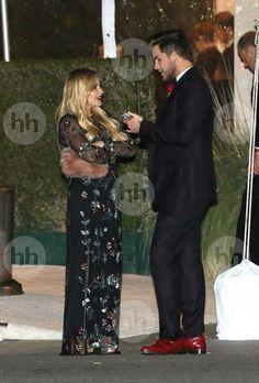 Adam Lambert at the Vanity Fair Oscar Party w/ Alisan Porter 2/26/17 Thanks @_coma_berenices