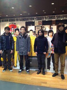 ASIAN KUNG-FU GENERATION, my favorite band.
