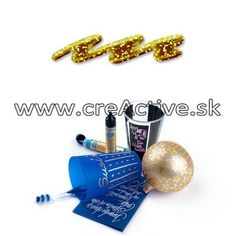 Glitter liner 28 ml zlatá