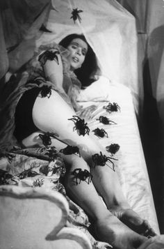Still from the movie - Esta Noite Encarnarei no Teu Cadáver / This Night I'll Possess Your Corpse directed by José Mojica Marins, 1967.