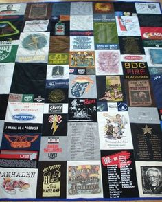 T shirt quilt tutorial - instructables