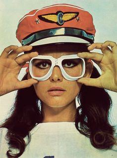 Claudia Cardinale by Richard Avedon, 1967, EPOCA magazine