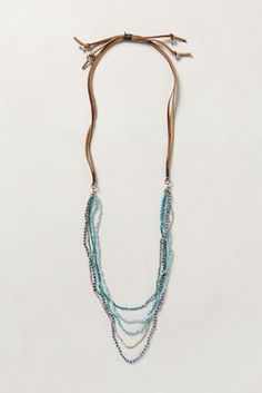 Anthropologie Spanish Moss Necklace #anthrofave #greigedesign