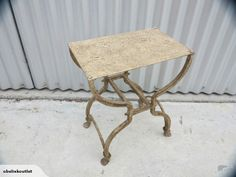 Iron Camp Stool | Trade Me