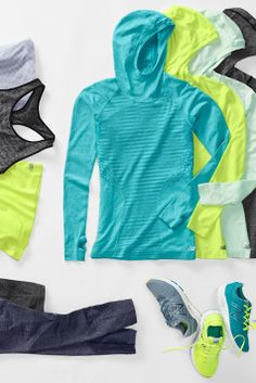 Seamless layers. Breathable comfort. Made for movement.