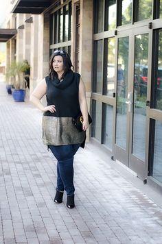 modamix plus size tunic jeans jacket crystal coons sometimes glam phoenix az blogger