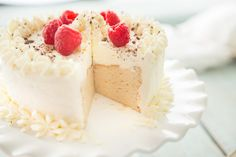Paleo Angel Food Cake #justeatrealfood #primalpalate