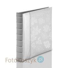 Album Roses-RS-2T srebrny XL (tradycyjny 60 czarnych stron)