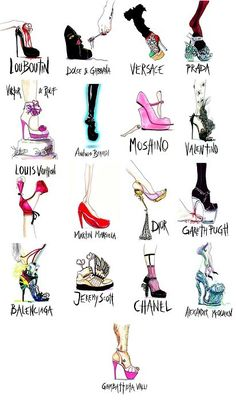 OMG! All the shoes I love! But where's Manolo? An obvious miss! Love my Manolos!
