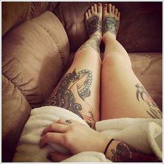 thigh tattoos for women (30)