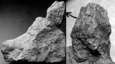 Limestone Figure from 33GU218 in Guernsey County, Ohio