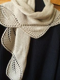key hole scarves to knit | Stripe and Button Knitted Winter Warm Scarf