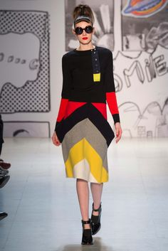 Tsumori Chisato - Fall 2015 Ready-to-Wear - Look 24 of 43