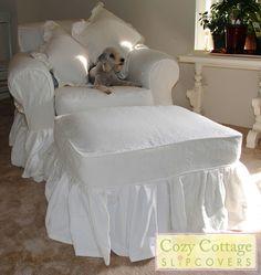 Cozy Cottage Slipcovers: Lola Loves Ruffles
