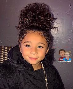 Zahara - 4 Years • African American, Creole, Native Indian & Spaniard ♥️ Beautiful little girl