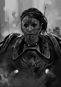 40k - Imperial Guardswoman
