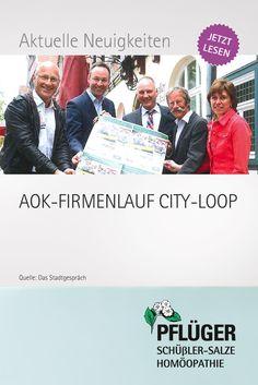 AOK-FIRMENLAUF CITY-LOOP  Wiedenbrücker Event startet am 10. Juni 2015
