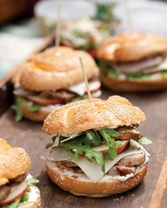 Pork Tenderloin Sandwiches with Caramelized-Onion Mayonnaise - Southern Lady Magazine