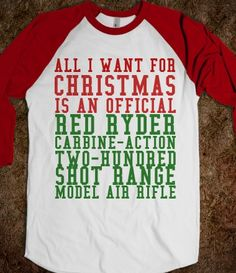 RED RYDER CHRISTMAS STORY