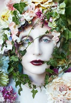 Kirsty Mitchell, The Pure Blood Of A Blossom