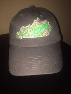 For my birthday please! Lilly Pulitzer Kentucky hat! Cute for summer and so southern.